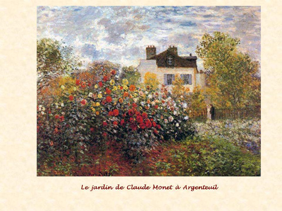 Le jardin de Claude Monet à Argenteuil