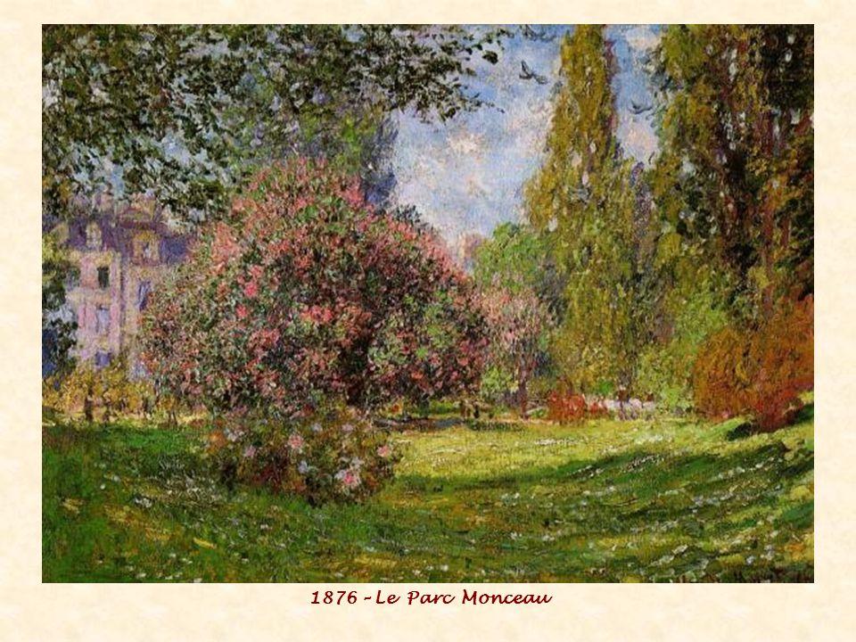 1876 – Le Parc Monceau