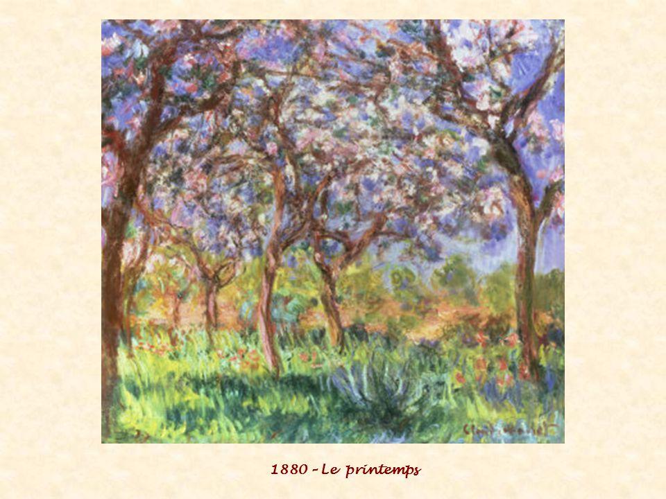 1880 – Le printemps