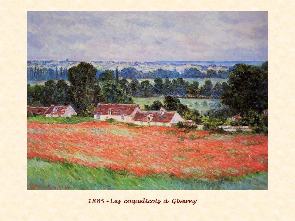 1885 – Les coquelicots à Giverny