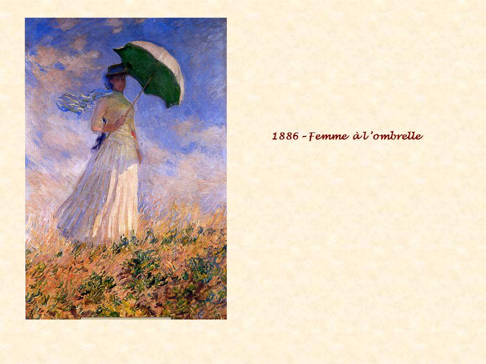1886 – Femme à l 'ombrelle
