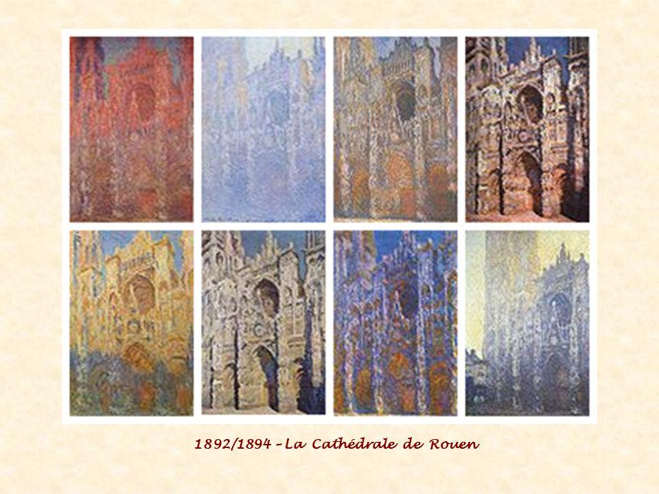 1892/1894 – La Cathédrale de Rouen