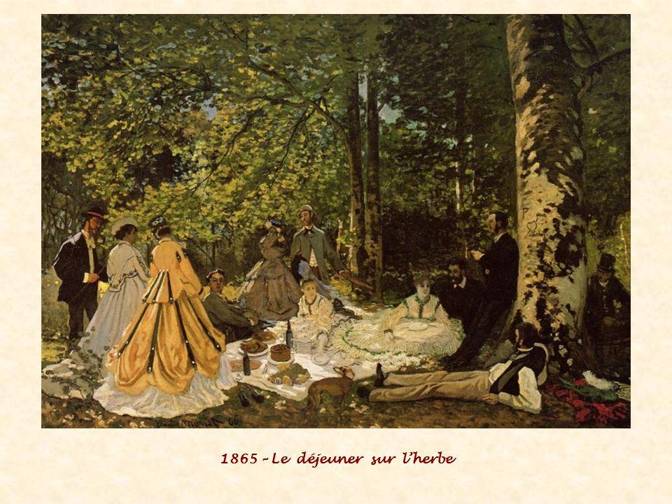 1865 – Le déjeuner sur l'herbe