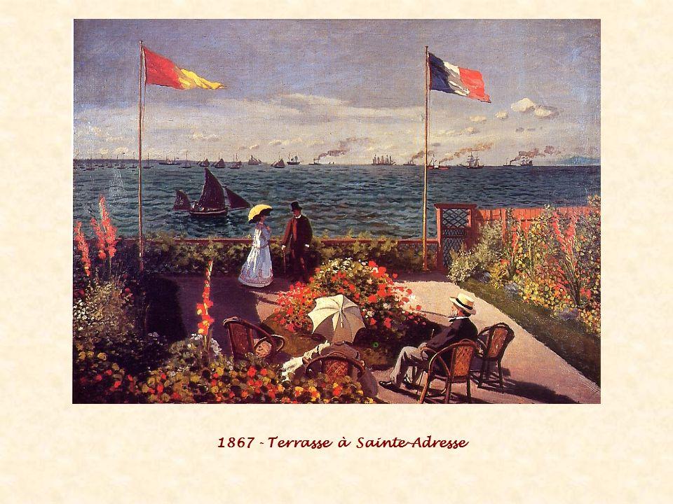 1867 - Terrasse à Sainte-Adresse