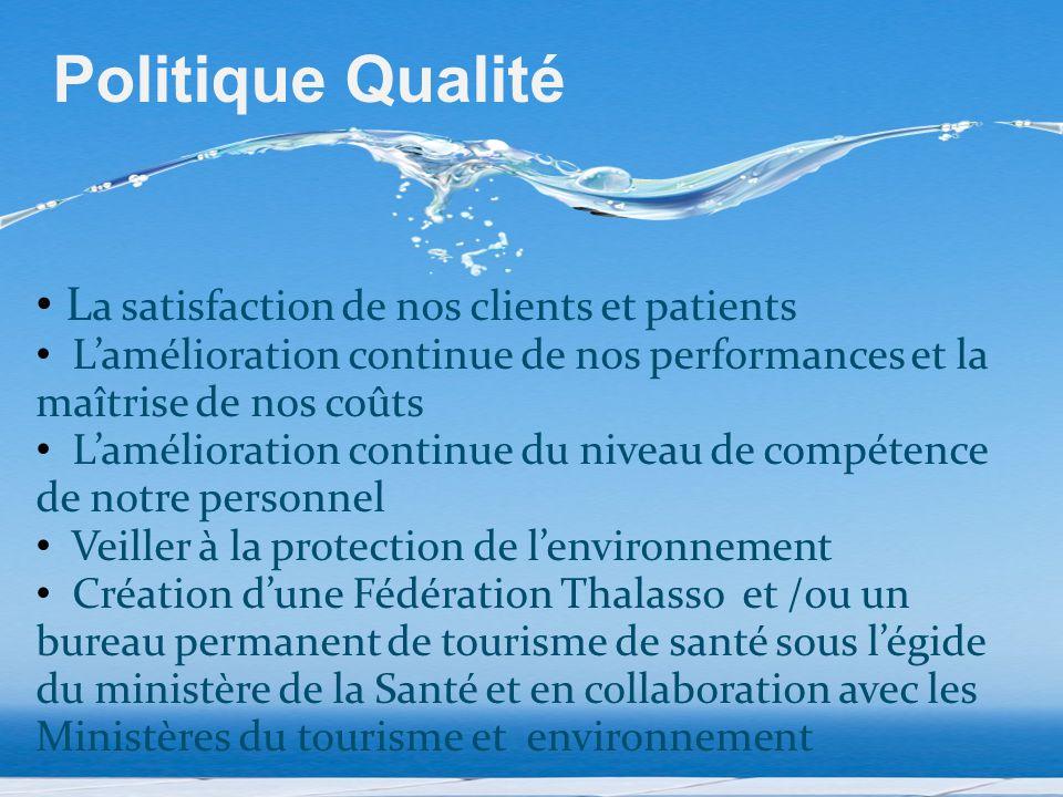 L a satisfaction de nos clients et patients L'amélioration continue de nos performances et la maîtrise de nos coûts L'amélioration continue du niveau