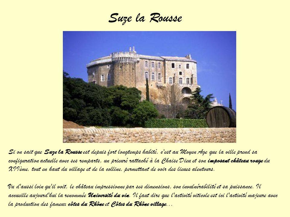 Montélimar Le château est considéré comme un des derniers exemples d'architecture castrale romane : une enceinte fortifiée avec son chemin de ronde, l