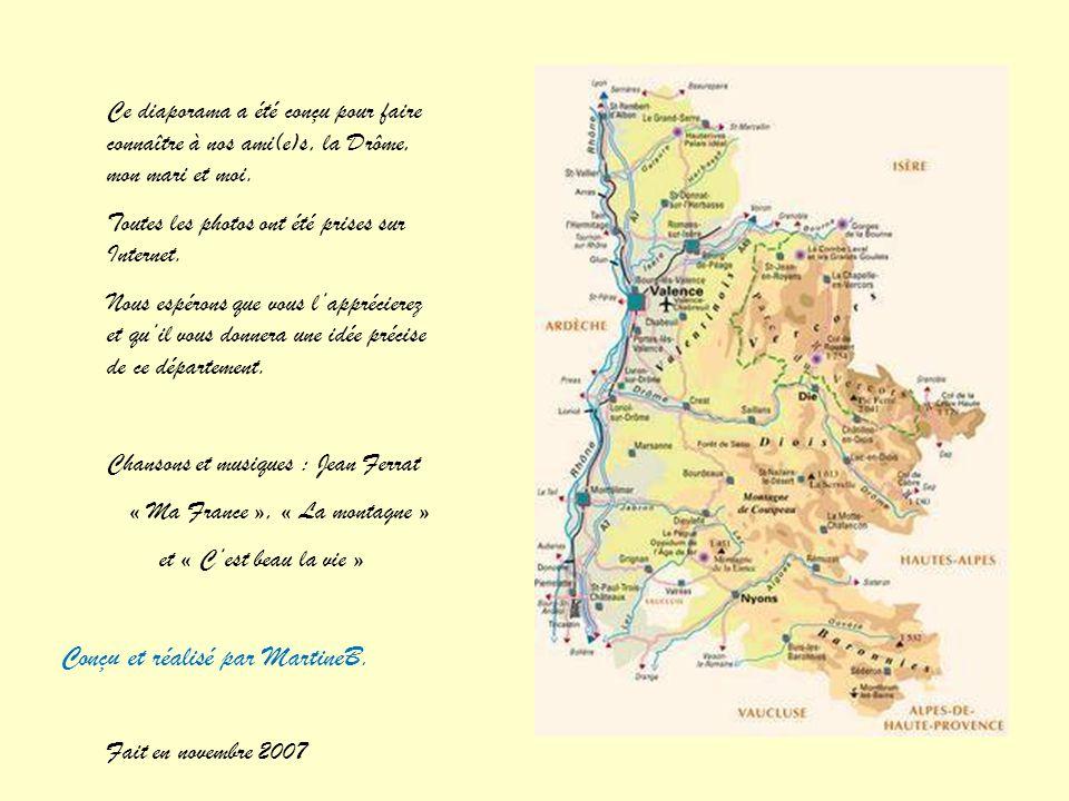 Montbrun les Bains Un des Plus Beaux Villages de France Entouré de montagnes, le village qui a toujours attiré la convoitise de l'homme, de la préhist