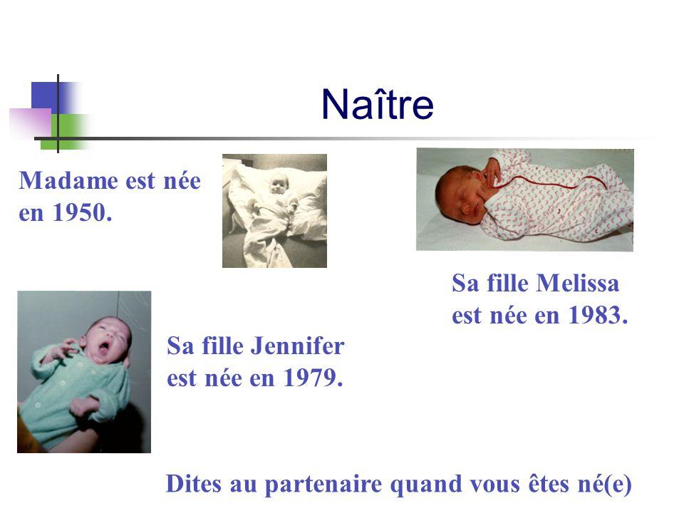 Naître Madame est née en 1950.