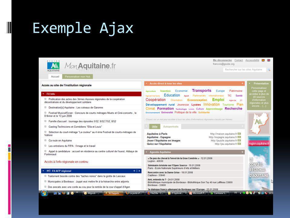 Exemple Ajax