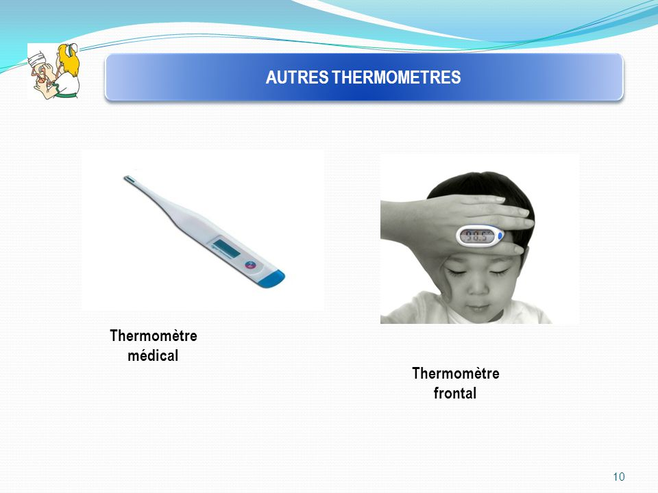 10 AUTRES THERMOMETRES Thermomètre médical Thermomètre frontal
