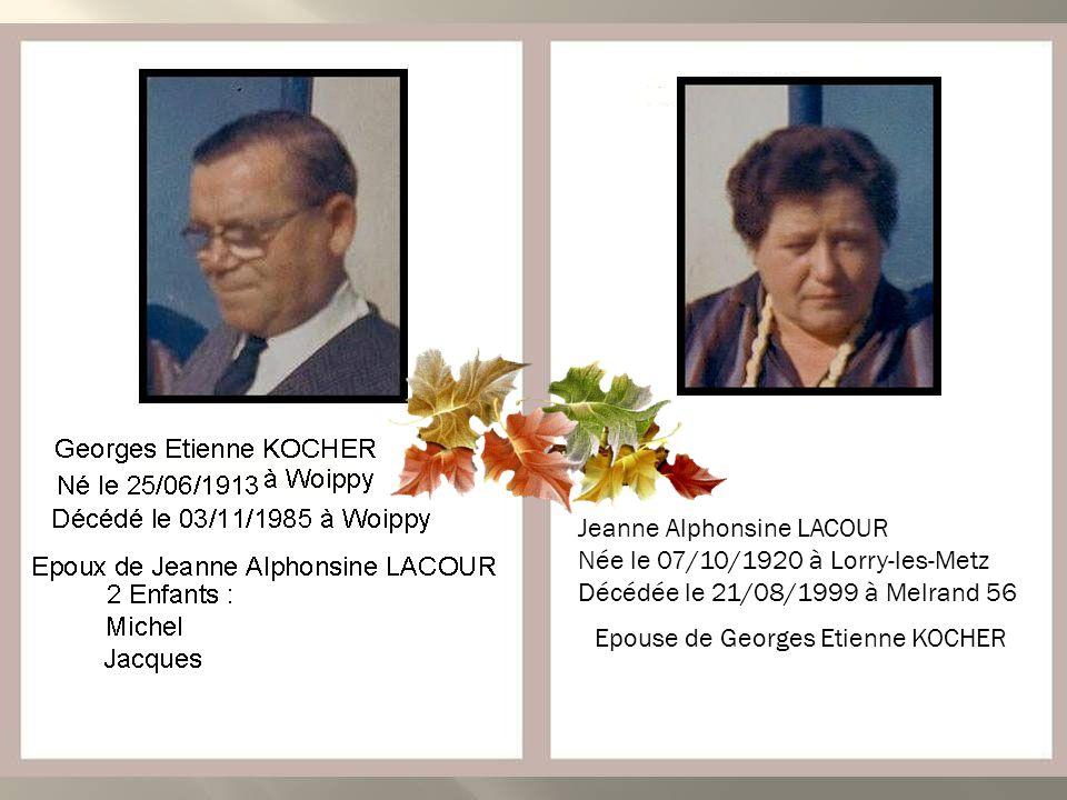 Marcel KLEMAN Claude André KLEMAN Né le 00/00/0000 à Woippy Décédé accidentellement le 16/02/2010 à Woippy Décédé le 22/02/1983 à Woippy Décédée le 30
