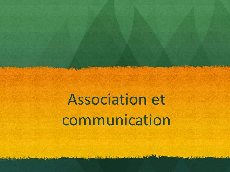 A qui s'adresse la communication d'une association .