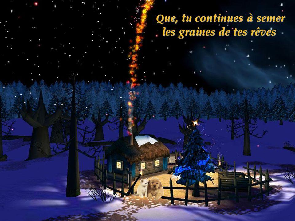 Q ue, tu continues à semer les graines de tes rêves Q ue, tu continues à semer les graines de tes rêves