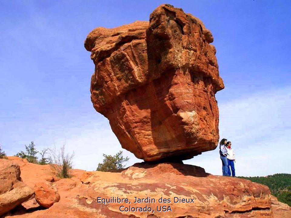 Equilibre, Jardin des Dieux Colorado, USA