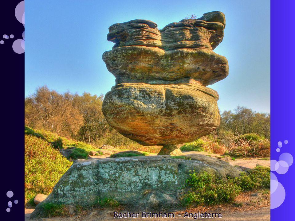 Rocher Brimham - Angleterre