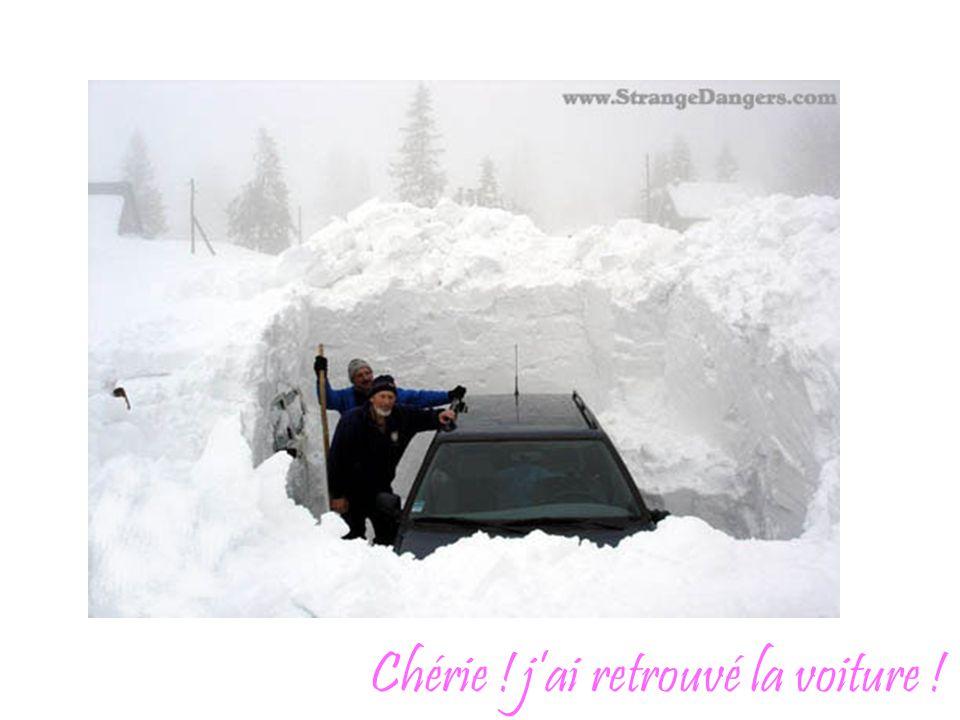 Chérie ! j'ai retrouvé la voiture !