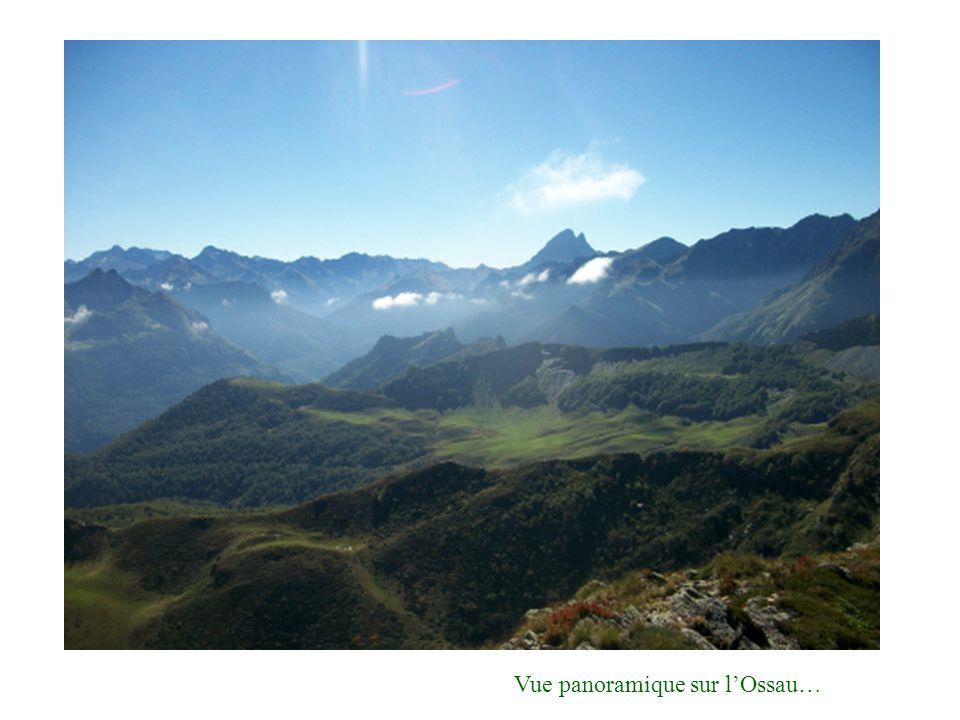 Vue panoramique sur l'Ossau…