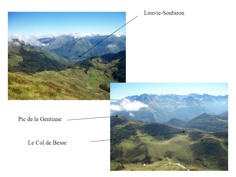 Louvie-Soubiron Le Col de Besse Pic de la Gentiane