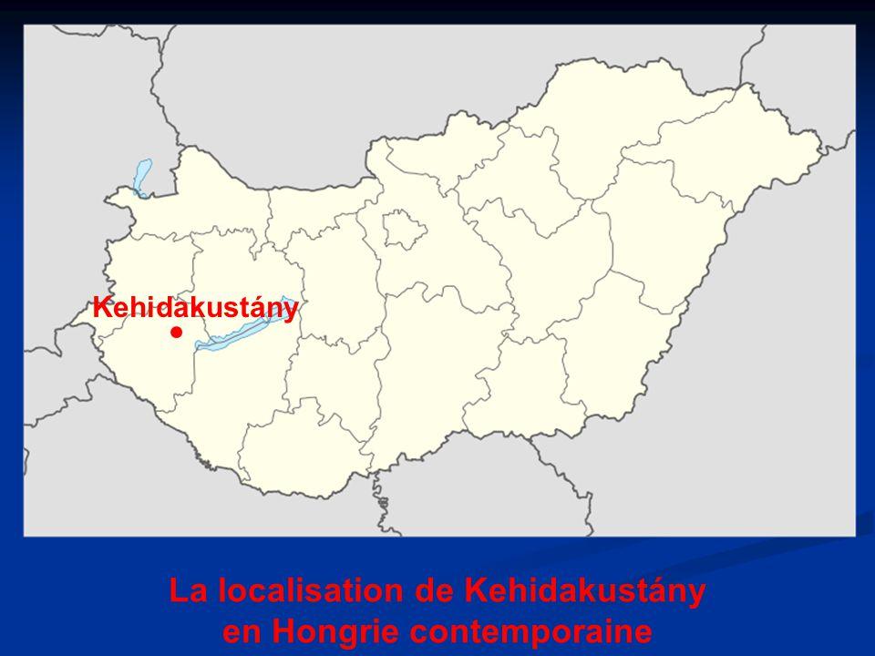 Kehidakustány La localisation de Kehidakustány en Hongrie contemporaine