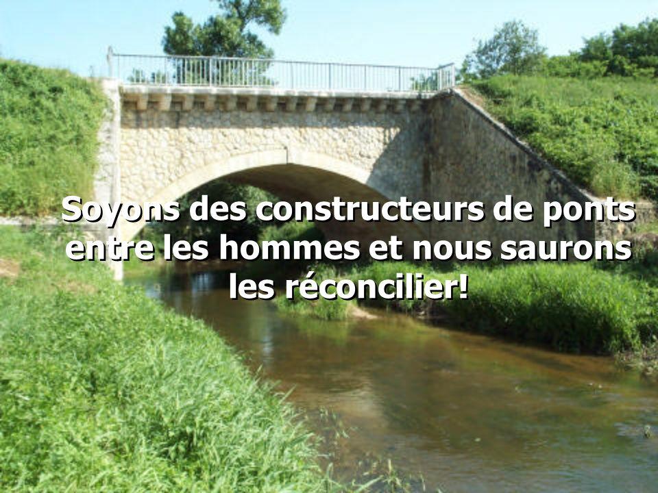 """Précisément à ce moment, le petit frère sortit de sa maison et courut vers Louis en s'exclamant: -""""Tu es vraiment formidable! Construire un pont après"""