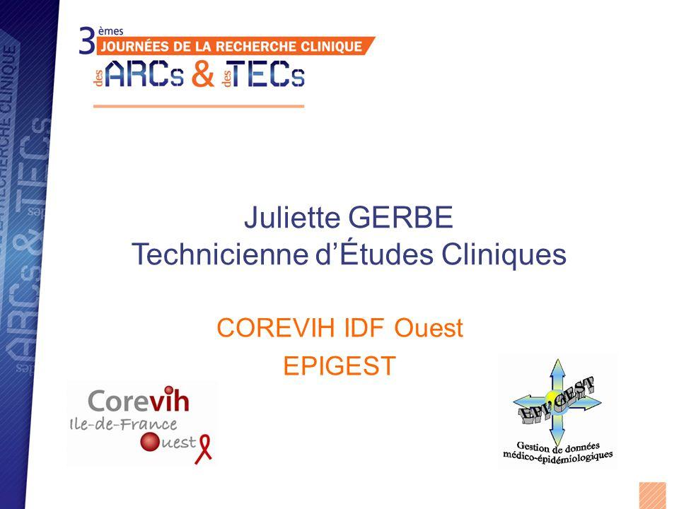 Jean Luc ECOBICHON Technicien d'Études Cliniques COREVIH IDF Ouest EPIGEST