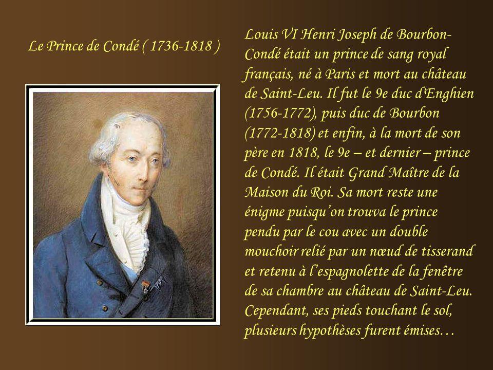Auteur de nombreux traités sur l'Education, elle a élevé les enfants de Philippe Egalité. Comtesse de Genlis (1746-1830) Louis-Philipe d'Orléans, plus
