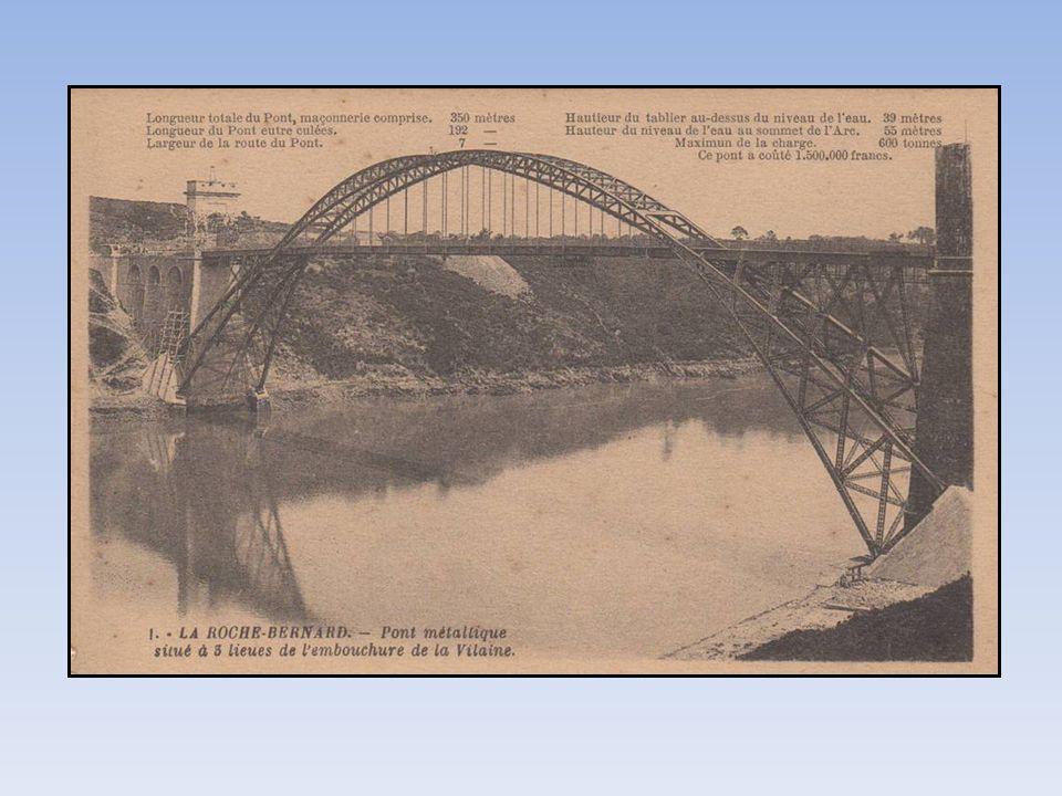 Le pont en arc articulé En 1911 c est le deuxième pont.