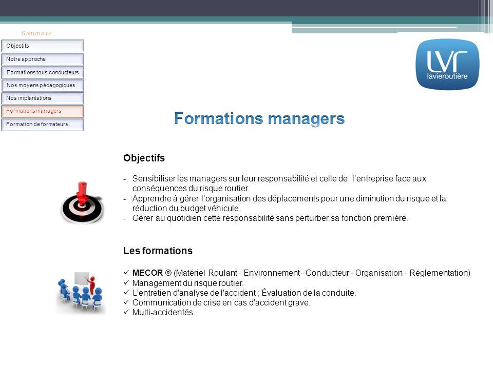 Les formations MECOR ® (Matériel Roulant - Environnement - Conducteur - Organisation - Réglementation) Management du risque routier. L'entretien d'ana