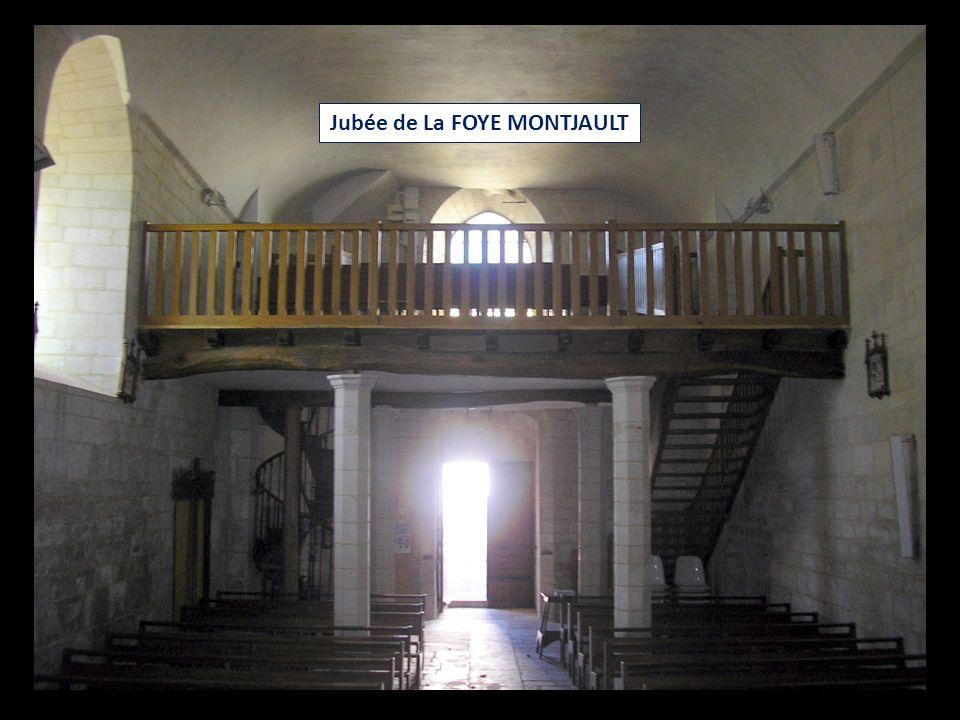 Jubée de La FOYE MONTJAULT
