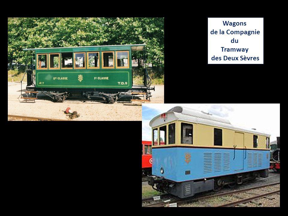 Wagons de la Compagnie du Tramway des Deux Sèvres