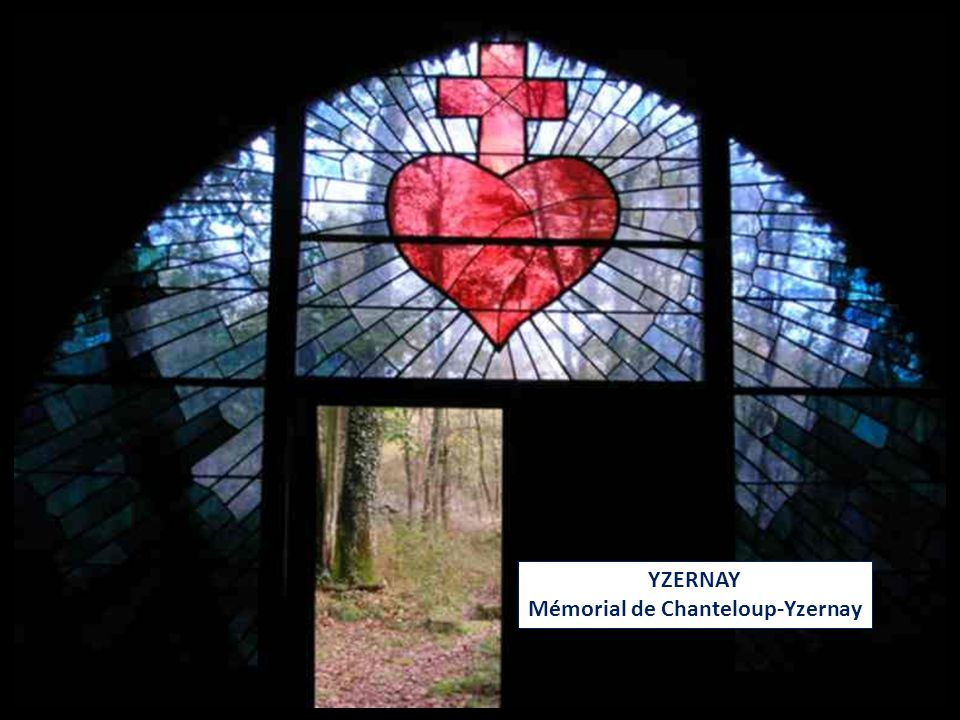 YZERNAY Mémorial de Chanteloup-Yzernay