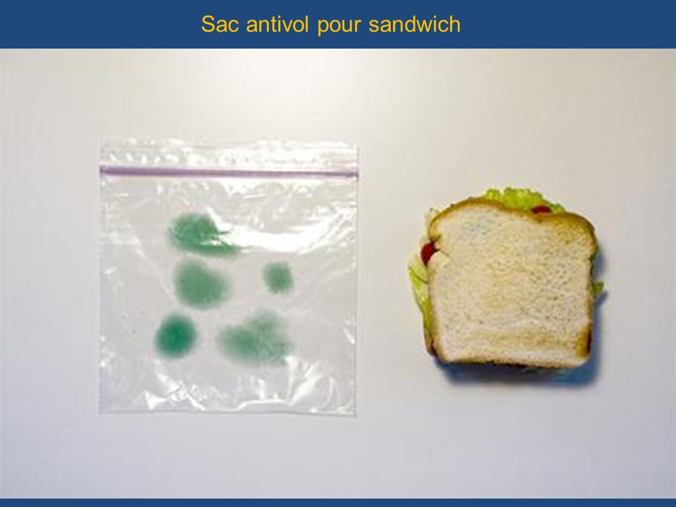 Sac antivol pour sandwich