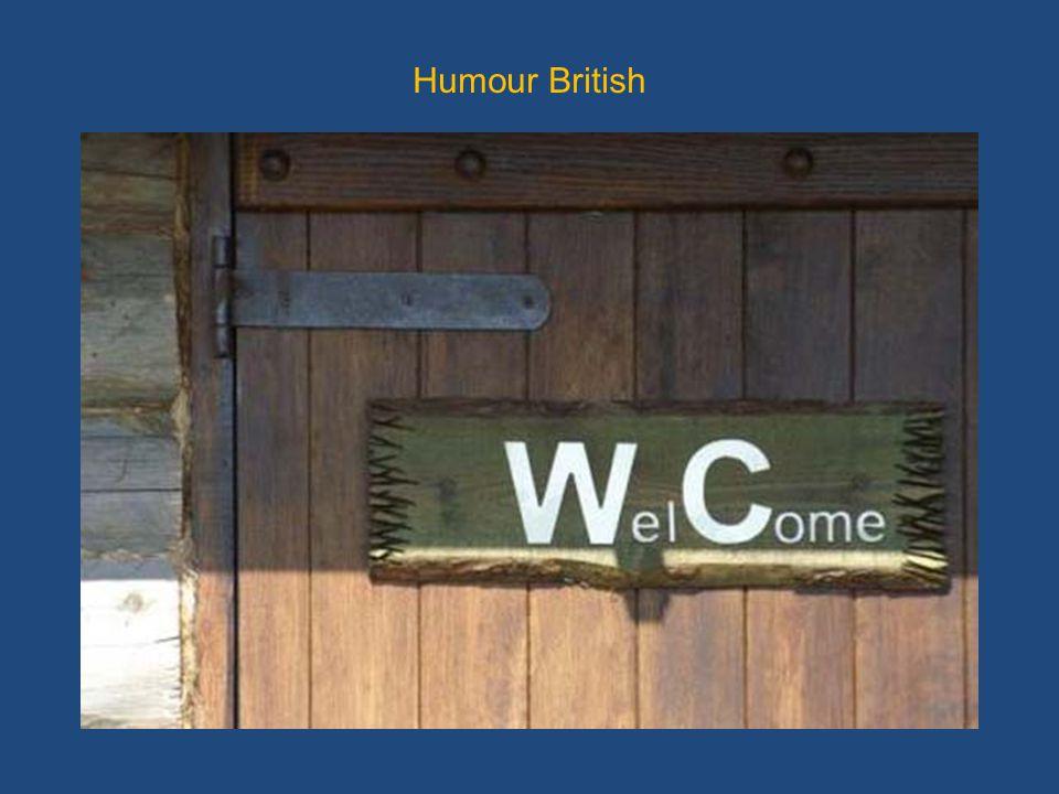 Humour British