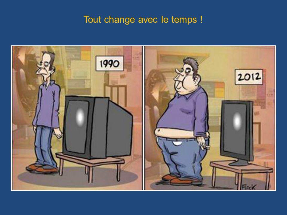 Tout change avec le temps !