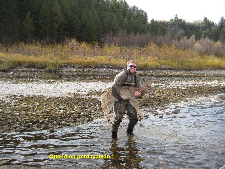 Curieuse pêche !