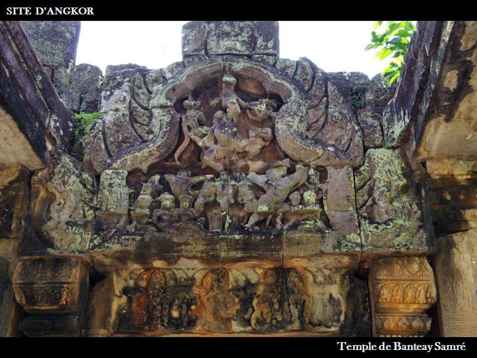 Temple de Banteay Samré SITE D'ANGKOR Entrée
