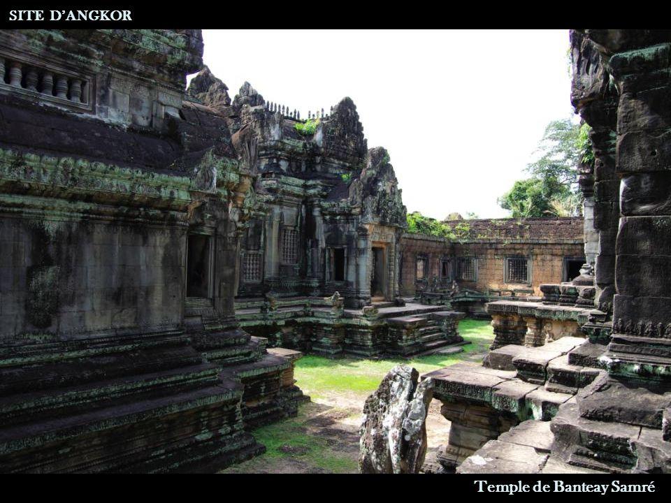 SITE D'ANGKOR Temple de Banteay Samré