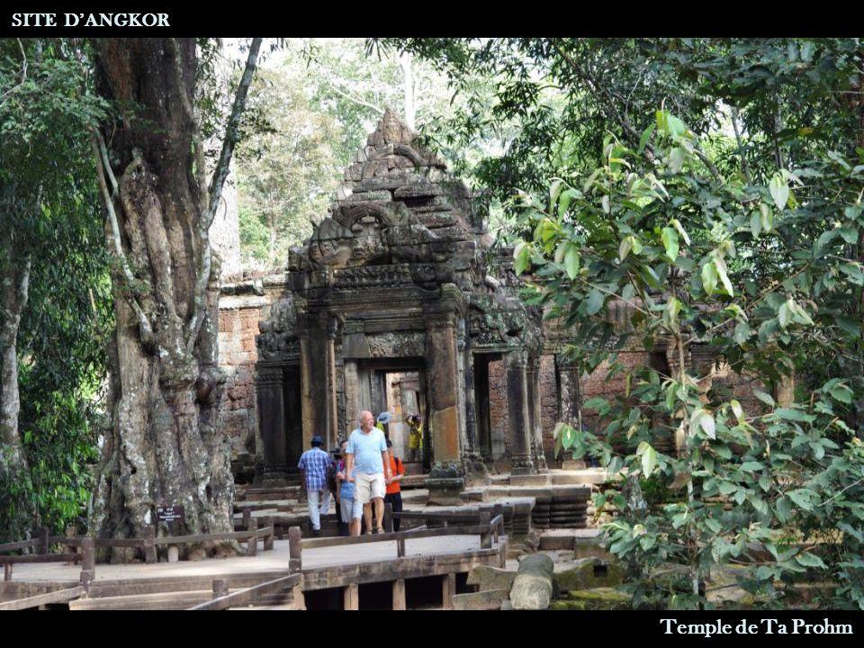Temple de Ta Prohm Entrée Est SITE D'ANGKOR