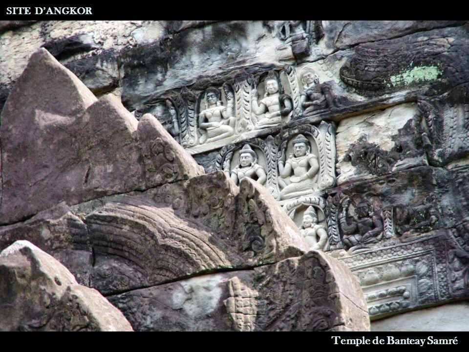 Bibliothèque SITE D'ANGKOR Temple de Banteay Samré