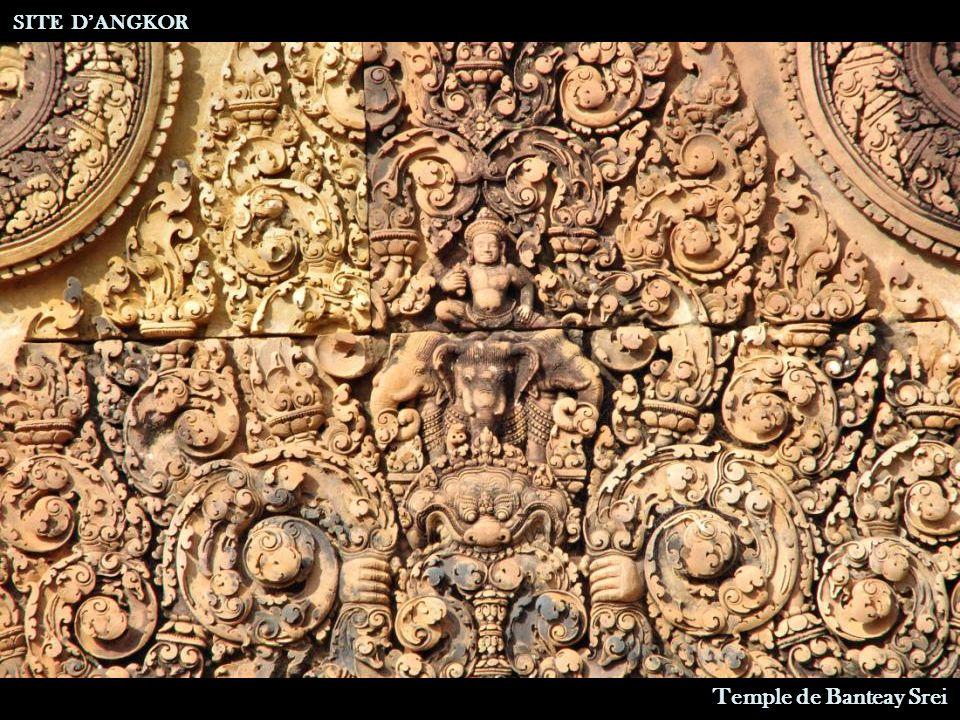 Temple de Banteay Srei SITE D'ANGKOR