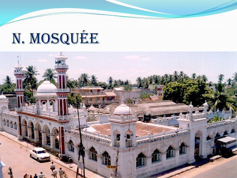 n. mosquée