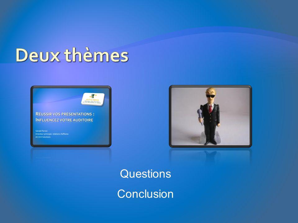 Questions Conclusion