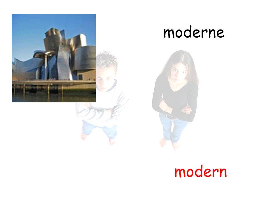 moderne modern