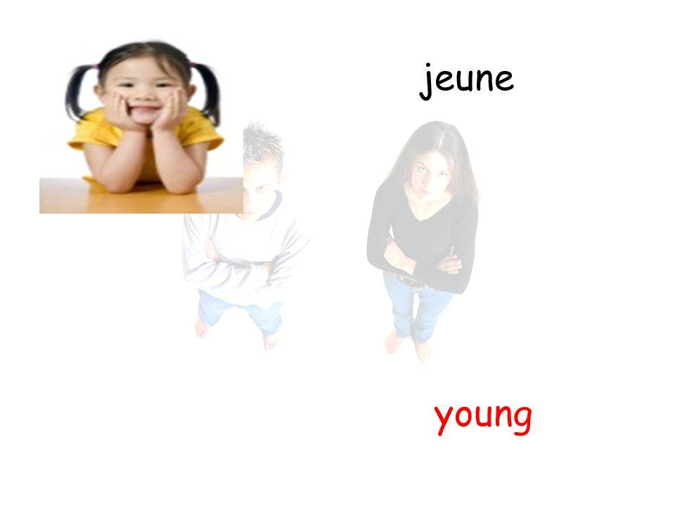 jeune young