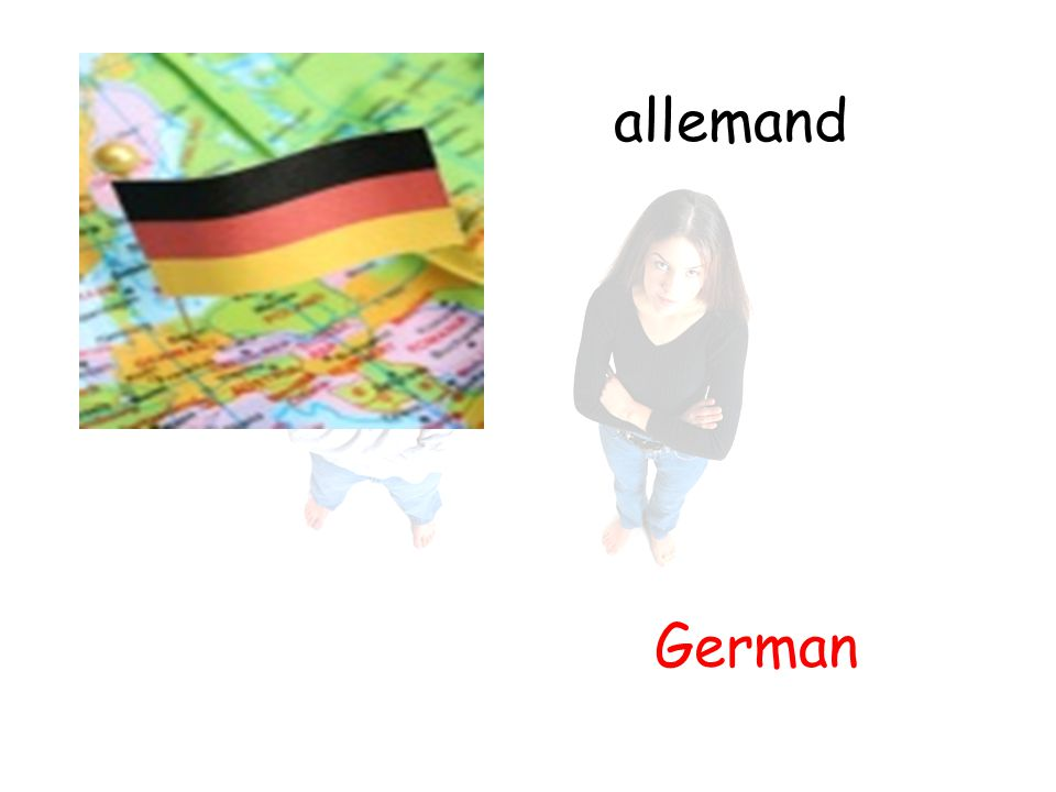 allemand German