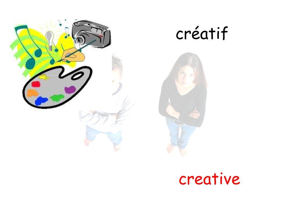 créatif creative