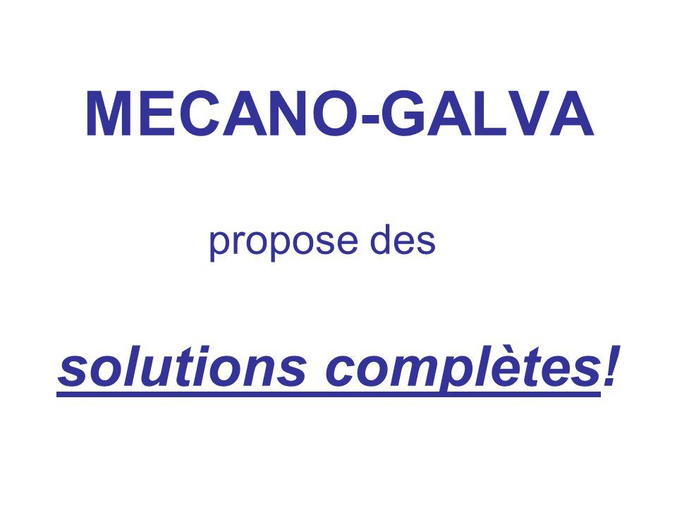 propose des solutions complètes!