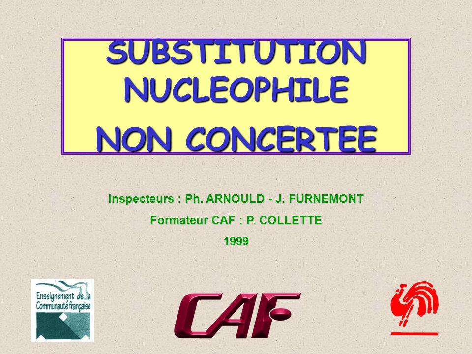 Inspecteurs : Ph.ARNOULD - J. FURNEMONT Formateur CAF : P.