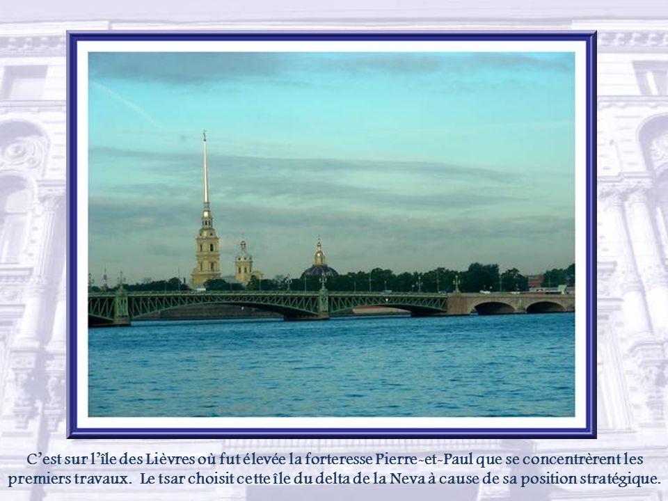 La forteresse Pierre et Paul