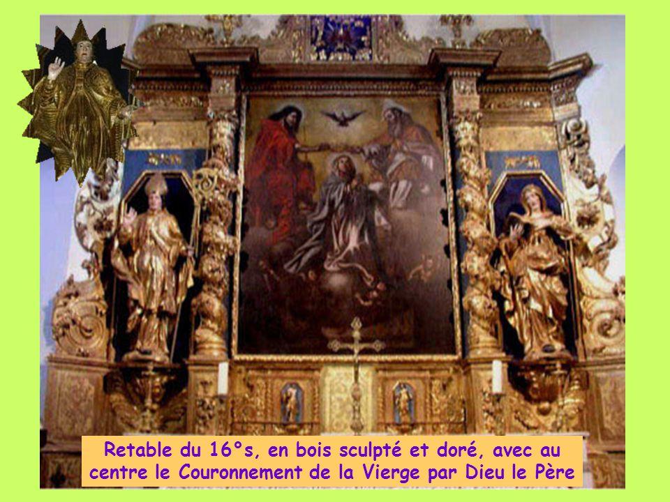 L'Église de Ste Trinité, datant du 15° s. est classée aux Monuments historiques depuis le 20/1/1966